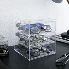 36230ES  3-Drawer Glasses Case