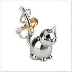 299212-158 Zoola Cat-Chrome Ring Holder