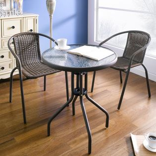 CD025  2-Chair & Table (3 Pcs)