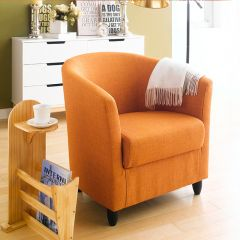 Club Lux-Orange  Resting Chair