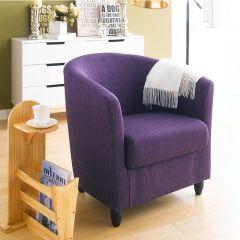 Club Lux-Purple  Resting Chair