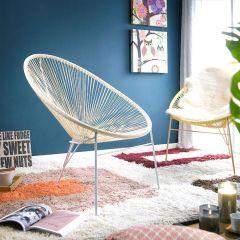 Jess-White  String Chair
