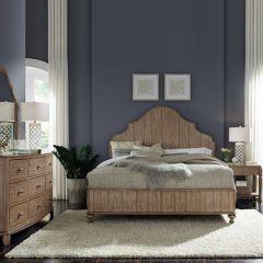 W1049-91K  Panel Bed (침대+협탁+화장대)