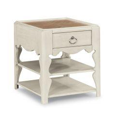 W1449-016   Scroll Leg End Table