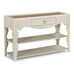 W1449-046   Scroll Leg Sofa Table