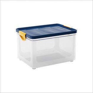 Clipper Blue-L  Storage Box w/  Lid