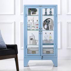 16-003-Sky Blue  Metal Cabinet