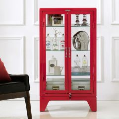 16-003-Red  Metal Cabinet