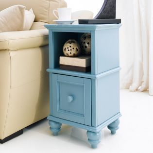 Y3659-02B-Blue  Side Table