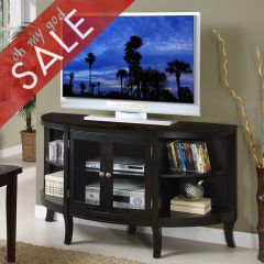 """ZR-B1460 Wood Top Beaumont  60"""" TV Stand"""