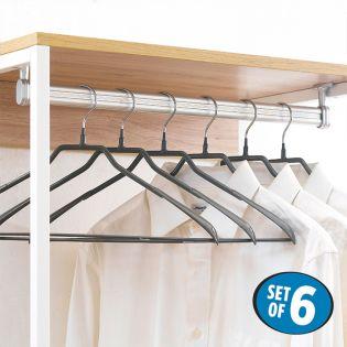HW5233-Grey  Clothes Hanger (6 Pcs 포함)