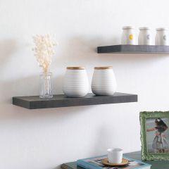 Etagere-DS4-Black Oak-600  Wall Shelf