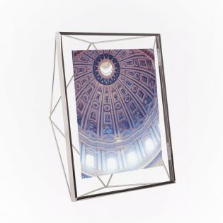 313018-158   Prisma PD 8x10-Chrome Photo Frame