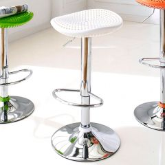 TF-847-White  Bar Stool