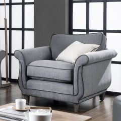 U3943-50-Khaki Grey   chair