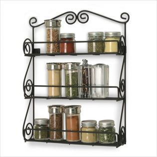 SPC-43710  Scroll Spice Rack