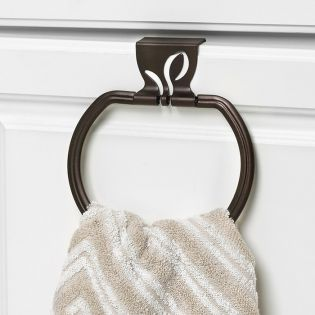 SPC-64324  Leaf Towel Ring