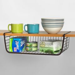 SPC-73024  M Shelf Basket-Bronze