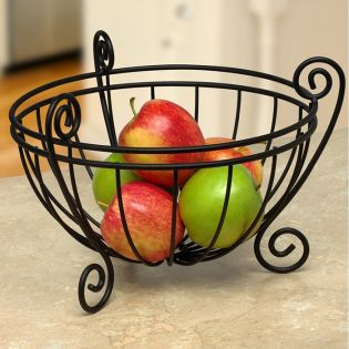 SPC-84510  Scroll Deluxe Fruit Bowl