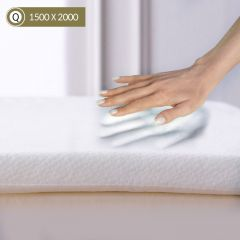 Memory Foam-1500 Queen  Mattress Topper 1500