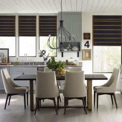 Austin 8100-320   Dining Set (1 Table + 4 Chairs + 1 Bench)