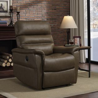 A209U-003-Toast Power Recliner w/USB