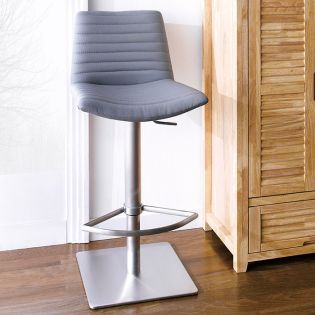 0572-GRY  Adjustable Bar Stool