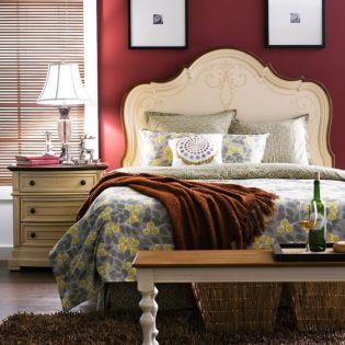 Y3603-64H-HB   Single Panel Bed (침대+매트리스+협탁)  사이즈 1100mm