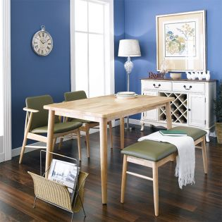 Tores-4 Dining Set  (1 Table + 2 Benches)