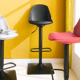 Cory-Black  Bar Chair