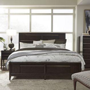 B4769  Panel Storage Bed  (침대+협탁+화장대)