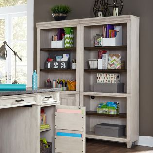 I248-333  Open Bookcase