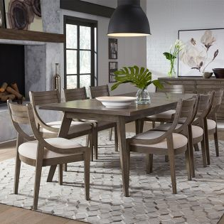 Greystone 9740L  Dining Set  (1 Table + 4 Side)