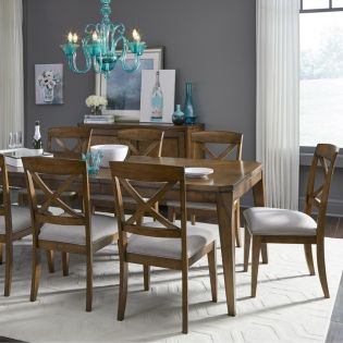 Highland 9700  Dining Set  (1 Table + 6 Side)