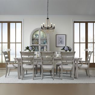 Belhaven 9360L  Dining Set  (1 Table+2 Arm+4 Side)