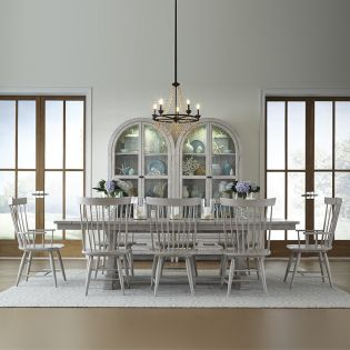 Belhaven 9360T  Dining Set  (1 Table+2 Arm+4 Side)