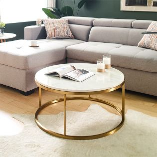 CT-181  Marble Coffee Table