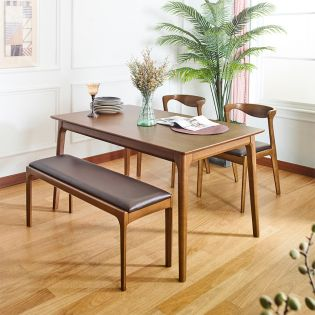 A9-4  Dining Set (1 Table + 2 Chair + 1 Bench)