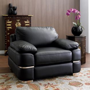 7294-10  Leather Chair