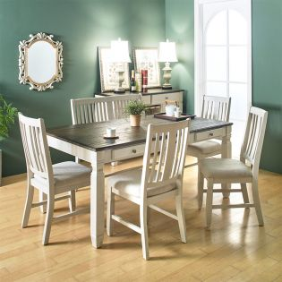 D00041  Dining Set  (1 Table + 4 Chairs + 1 Bench)