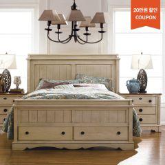 B747   Panel Bed w/ Storage (침대+협탁+화장대)
