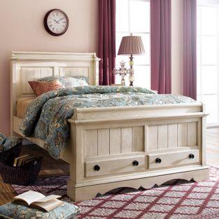 YB747  Panel Single Bed (침대) (매트 규격: 120cmx 203cm)