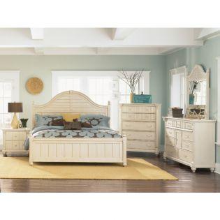 B1652  Panel King Bed (침대+협탁+화장대)