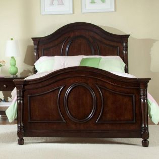 0851-4103 Savannah  Panel Twin Bed (침대) (매트 규격: 93cmx 193cm)