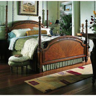 320 Grand Cru Poster King Bed  (침대+협탁+화장대)