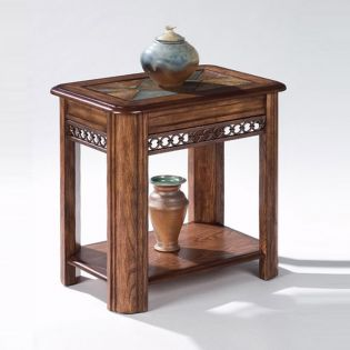T1125-10  Sliding Top Side Table