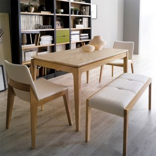 D7900-4  Dining Set (1 Table + 2 Chairs + 1 Bench)
