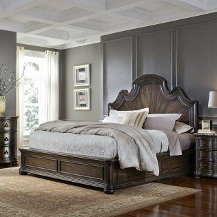 694 Cortina  King Panel Bed  (침대+협탁+화장대)