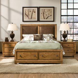 2700 Logan  Panel Bed (침대+협탁)