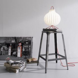 39708-Cannon  Counter Stool ~Steel~